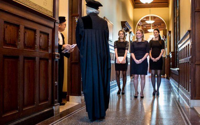 fotograaf promotie universiteit Utrecht