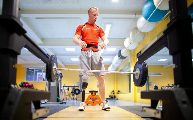 Pieter van Lierop Fotografie gehandicaptensport Ronald Hertog