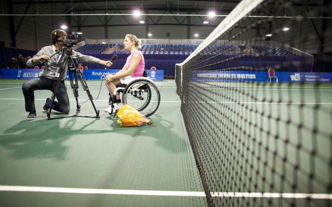 Pieter van Lierop Fotografie gehandicaptensport Esther Vergeer